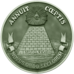 What is the true meaning of the image of 'Eye in Triangle' on the reverse of the Great seal of the United States Government? What is the contextual relation between the reverse side and front side of the Great Seal?
